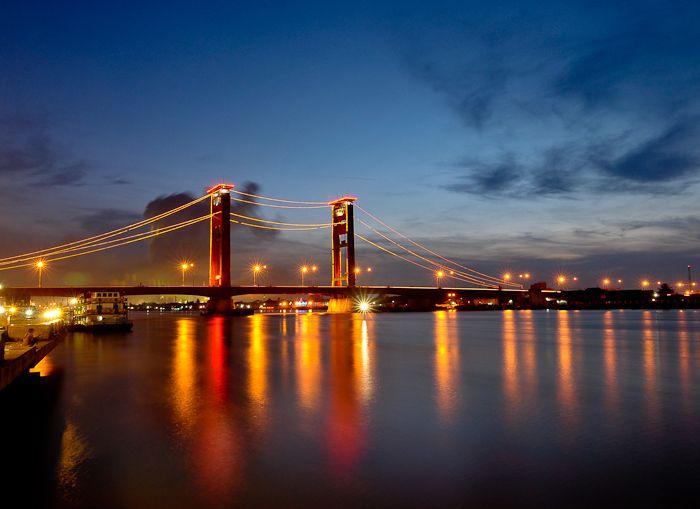 Jembatan Ampera - Palembang, Indonesia