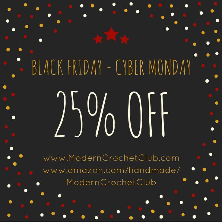 Black Friday - Cyber Monday SALE at Modern Crochet Club Barefoot Sandlas & Lace