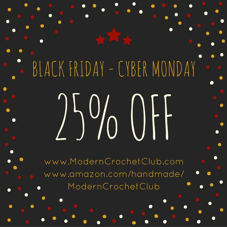 Black Friday - Cyber Monday SALE at Modern Crochet Club Barefoot Sandlas & Lace