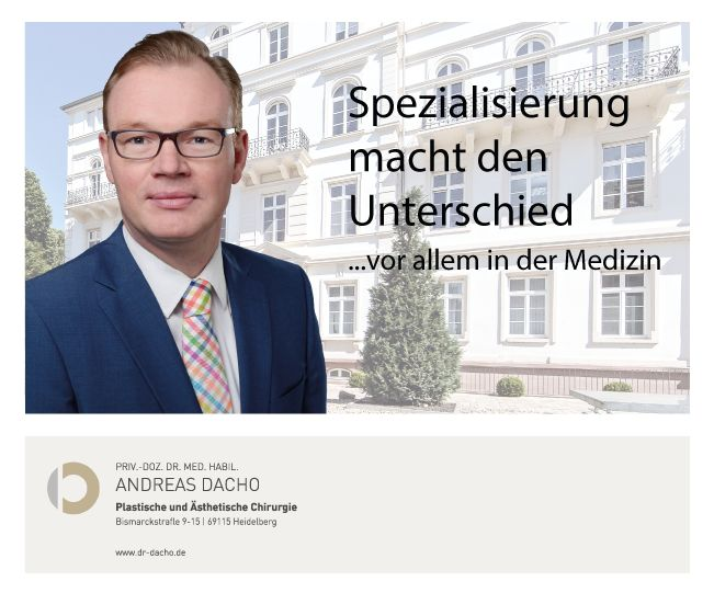 Spezialisierung macht den Unterschied - vor allem in der Medizin Plastische und Ästhetische Chirurgie in der ATOS Klinik Heidelberg http://www.dr-dacho.de/ #schönheit #ästhetik #gesicht #nase #lider #face #mund #lippen #hals #hno #dekolleté #wangen #falten #botox #filler #hyaluron #needling #PRP #heidelberg #karlsruhe #mannheim #badenbaden #darmstadt #frankfurt