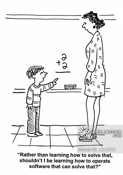 Maths Teachers Cartoons and Comics - funny pictures from CartoonStock