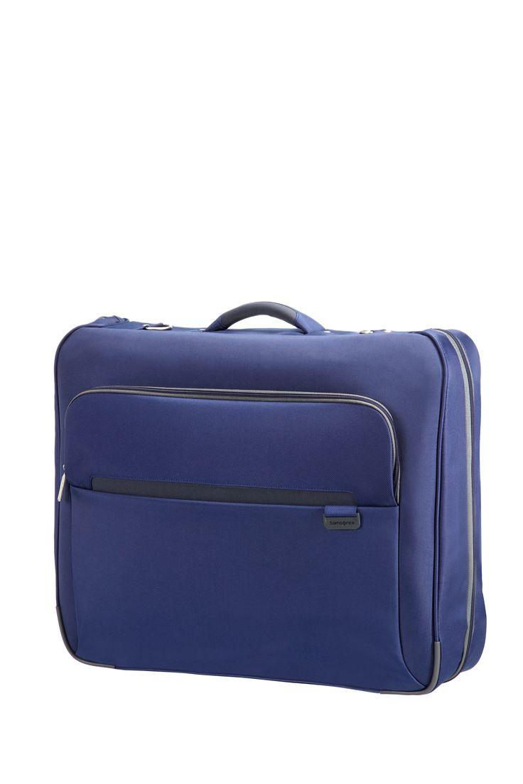 lumo blue garment bag samsonite lumo travel suitcase luggage strong lightweight. Black Bedroom Furniture Sets. Home Design Ideas