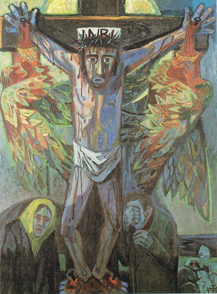 Otto Dix Grande Crocifissione 1948 Otto Dix 1891