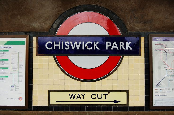 Chiswick Park London Underground Station in Chiswick, Greater London