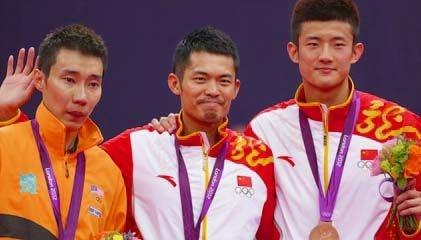 Olympic 2012 : Men's Single Award  Lee Chong Wei, Lin Dan, Chen Long