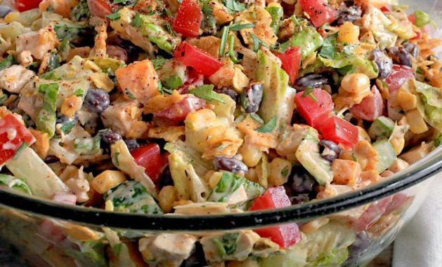 Tex-Mex Chopped Chicken Salad – WW Recipes & Tips.