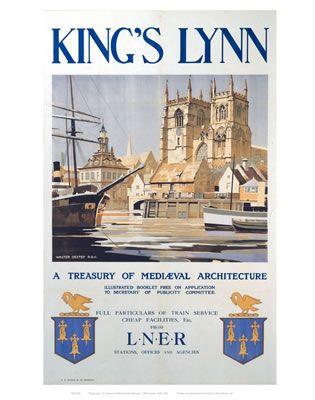 #King's #Lynn, vintagerailposters.co.uk