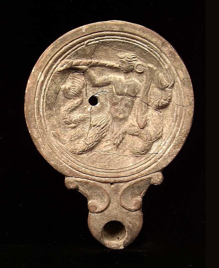 Roman mold oil lamp - Buscar con Google