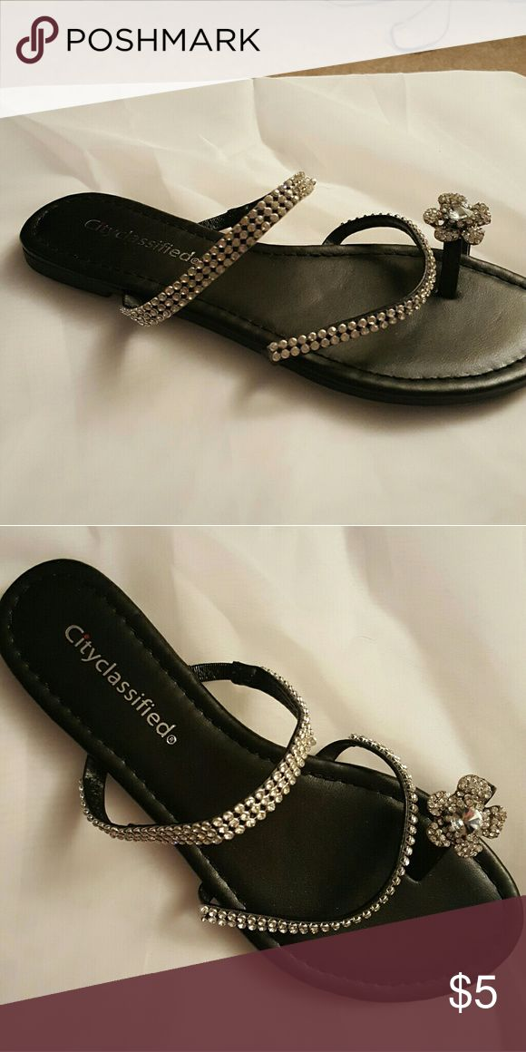 Dressy flip flops Brand new city classified  Shoes Sandals