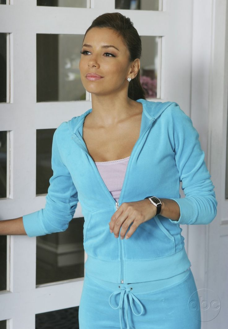 activewear juicy couture eva longoria