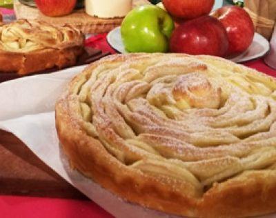 Espiral de manzanas