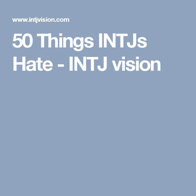 intj and infj dating style