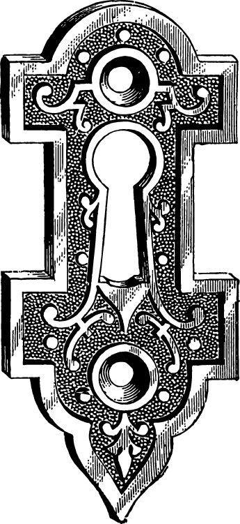 344 Best Keyholeslocksclockskeysand Things Images On Pinterest