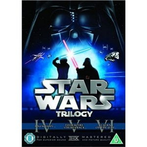Star Wars Trilogy: Episodes IV, V and VI [DVD]: Amazon.co.uk: Harrison Ford, Mark Hamill, Carrie Fisher, Alec Guinness, Ian McDiarmid, Warwick Davis, David Prowse, Anthony Daniels, Kenny Baker, Peter Cushing, Billy Dee Williams, George Lucas, Irvin Kershner, Richard Marquand: Film & TV