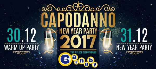 New Year party al Carnaby 2017