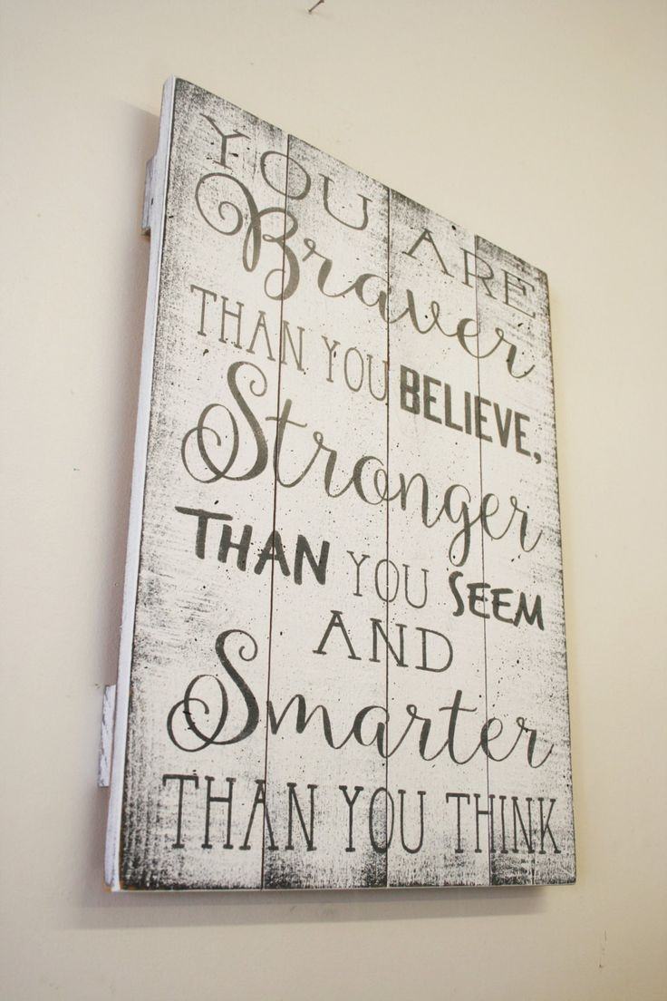 You Are Braver Than You Believe Pallet Sign Winnie The Pooh Nursery Girls Nursery Boys Nursery Wall Art Distressed Wood Vintage Shabby Chic