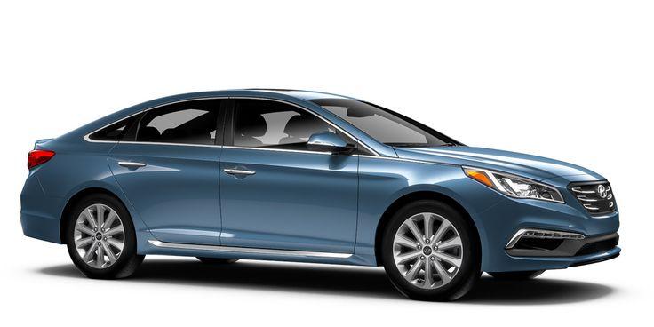 Build Your Own Hyundai | Hyundai USA 2017 Hyundai Sonata Limited (Nouveau Blue - Beige Interior)