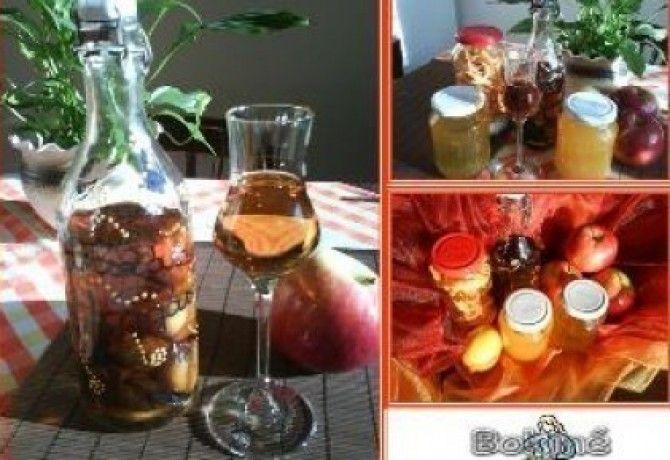 Ágyas pálinka 2. - aszalt gyümölcsös recept