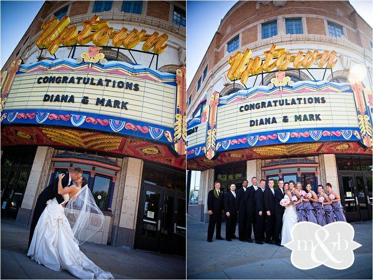 Uptown Theatre Kansas City Wedding and Reception Venue www.melissaandbeth.com #melissaandbeth #kansascity #kansascityweddingphotographers