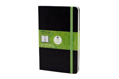 Moleskine Evernote Smart Notebook, Large, Ruled, Black, Hard Cover (5 x 8.25) (Evernote Smart Notebooks) by Moleskine,http://www.amazon.com/dp/8866137618/ref=cm_sw_r_pi_dp_.zdLsb115JWR2PYQ