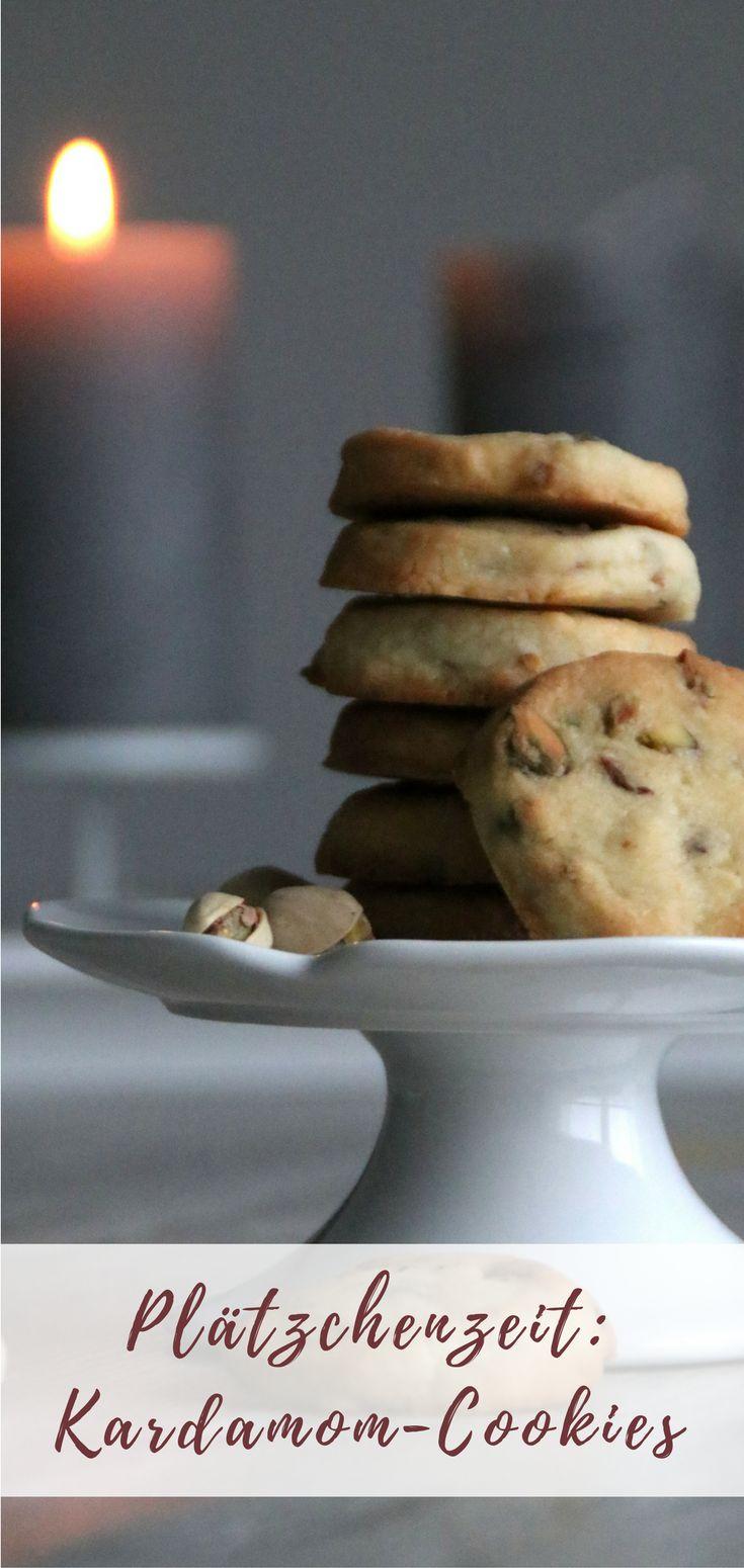 ausgefallene Plätzchen zu Weihnachten gesucht? Dann probiert mal diese Kardamom-Cookies.