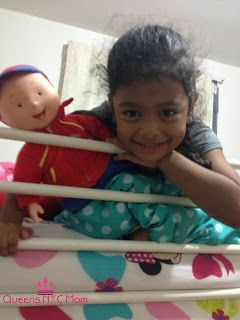 Review Best Friend Caillou Doll- Holiday Guide by @QueensNYCMom