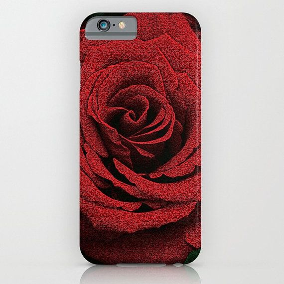 Love and hearts iPhone 6 Slim Case / iPhone by TheBlueRoseStudio