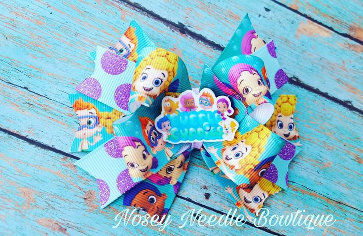 Bubble Guppies hair bow, Bubble Guppies headband, Bubble Guppies birthday party, Bubble Guppies outfit,  Bubble Guppies shirt, Bubble Guppies gift, Bubble Guppies decorations, Bubble Guppies birthday outfit,