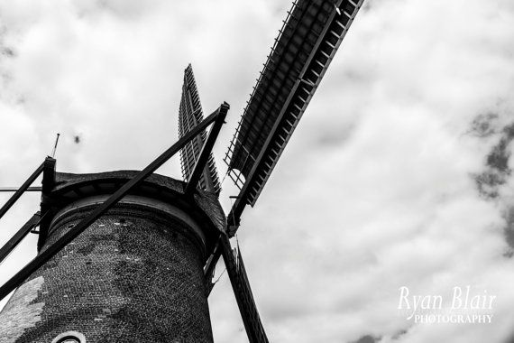 Kinderdijk Netherlands Holland Windmills by RyanBlairPhotography