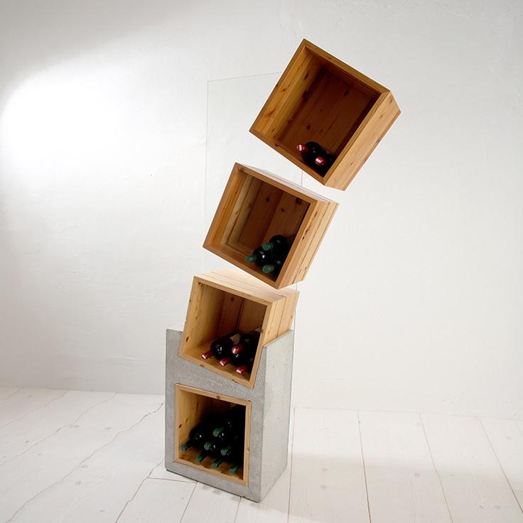 Wine storage  Prove Unit Swiss Stone Pine by creosa €2,747 (€3,720 retail price)