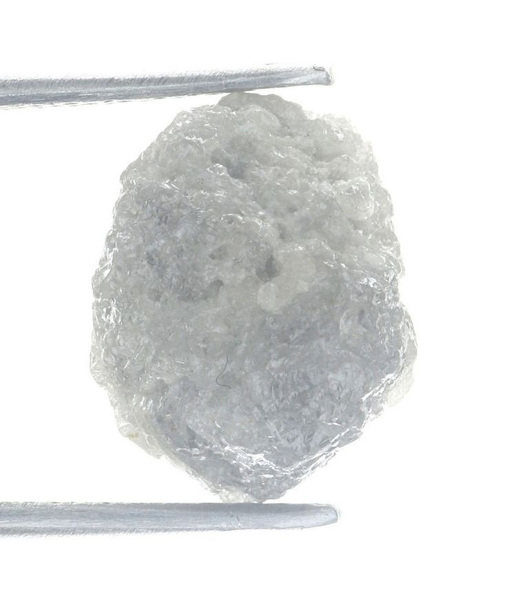 SilverGray Color 5.41 Ct Earth Mined Loose Rough Natural Diamond