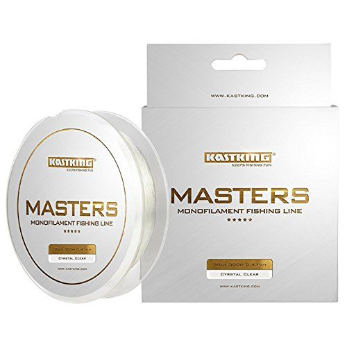 Kastking Masters Tournament Grade Monofilament Fishing Line - Pro Series Mono Line Premium Fishing Line - Super Smooth Casting Abrasion Resistant And Superior Strength -award Winning