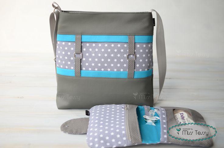 Kinderwagentasche mit Windeltasche