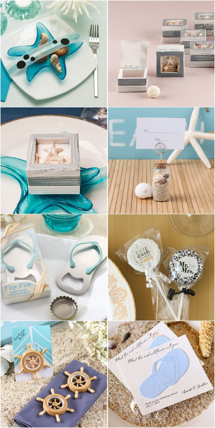 19 Beach Wedding Favor Ideas As Low 11 Each