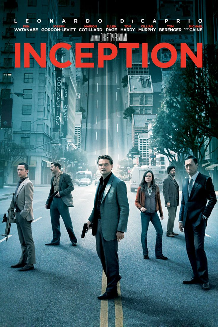 Inception- A movie about some trying to execute a massive heist - pretty good film, but maybe too much violence and blood, Nolan style ;)