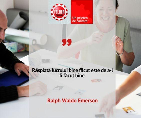 #citatulsaptamanii #calitate #feldergrupperomania