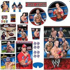 WWE Wrestling Birthday PARTY SUPPLIES ~ Create Your Own Set ~ U Pick!! WWF