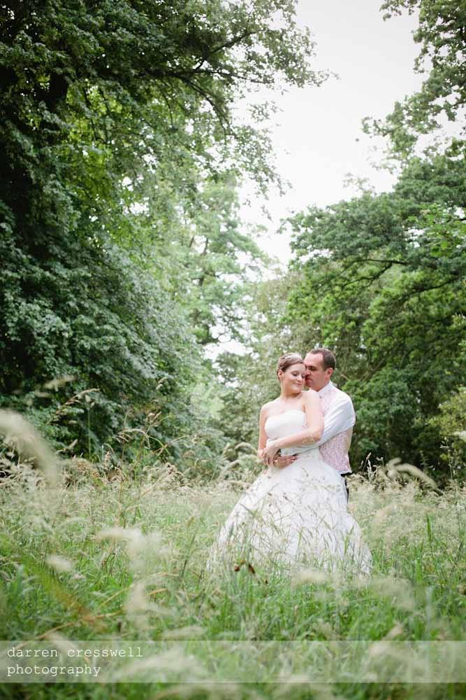 Alice and John's wedding at Kelmarsh Hall.