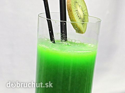 Kiwi smoothie so žeruchou