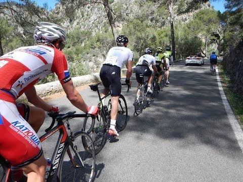 Mallorca Classic Race 2013 first Mountain Cycling Video for Indoor Training 60 Minute HD - YouTube