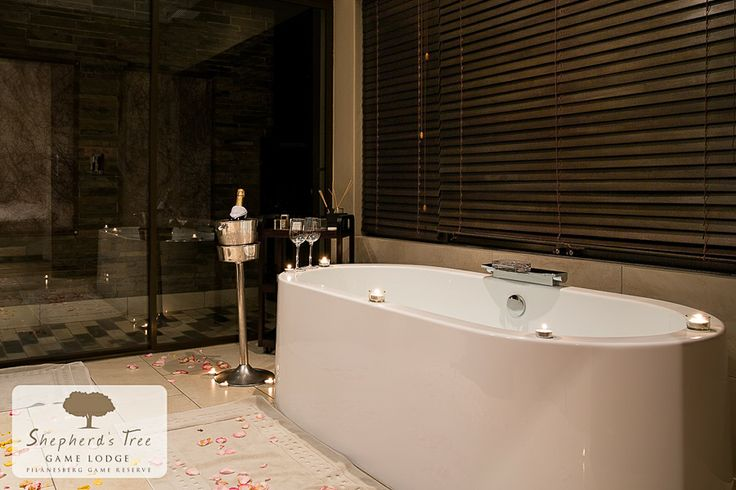 Executive Room (Romantic Turndown) ~ Shepherd's Tree Game Lodge ~ www.shepherdstree.co.za