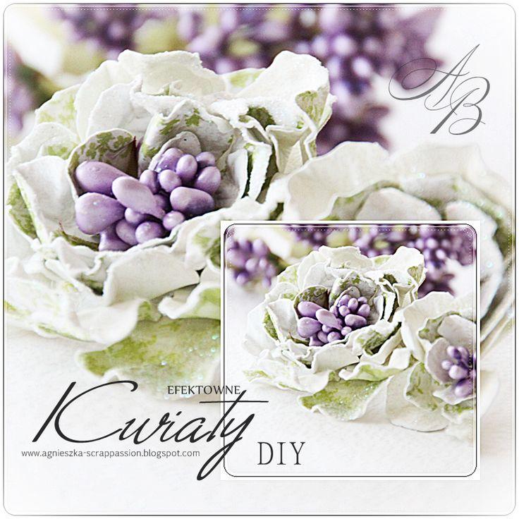 scrappassion: DIY - kwiaty
