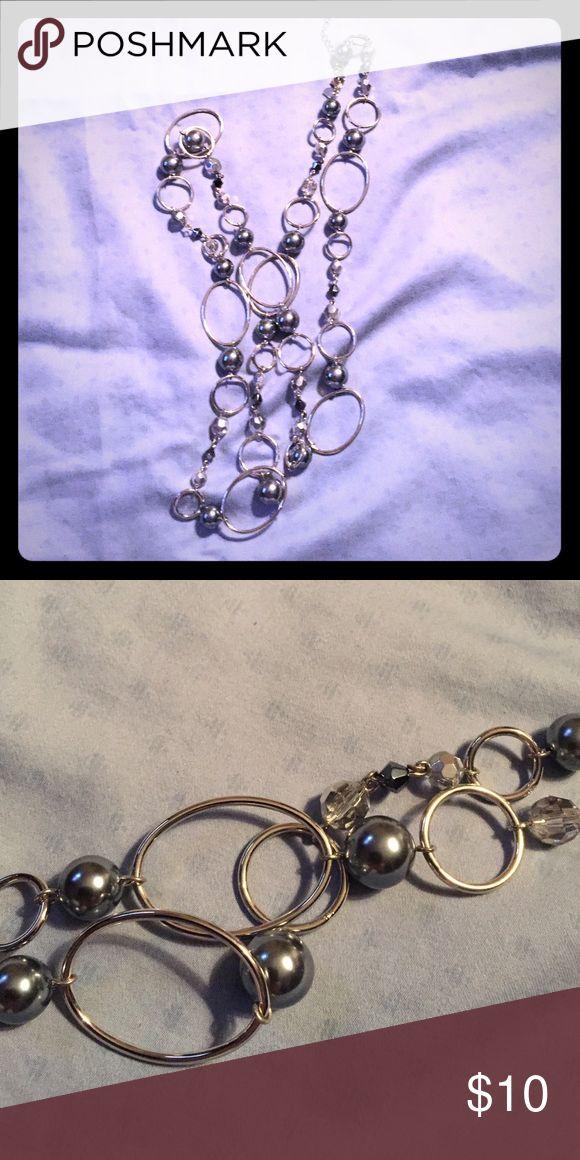 """Lia Sophia Alpine long necklace Lia Sophia Alpine long necklace. 22"""" long Lia Sophia Jewelry Necklaces"""