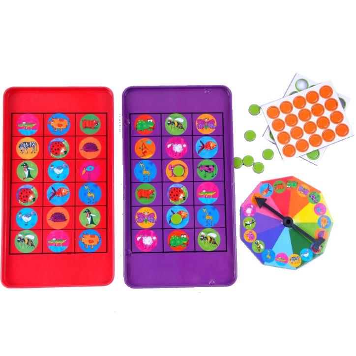 The Purple Cow: magnetyczna gra podróżna Bingo, 29 zł