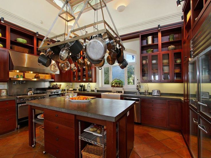 23 Cherry Wood Kitchens (Cabinet Designs U0026 Ideas) Part 52