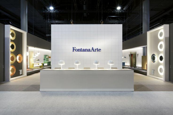 FontanaArte Stand at Light+Building Fair 2014 in Frankfurt.