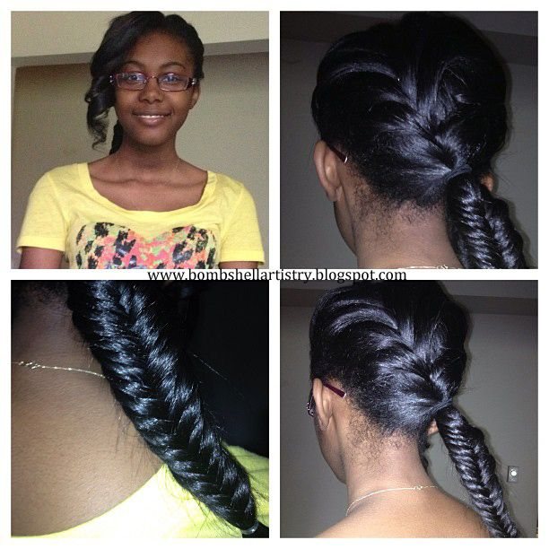 Superb African Americans Africans And Fishtail Braids On Pinterest Hairstyle Inspiration Daily Dogsangcom