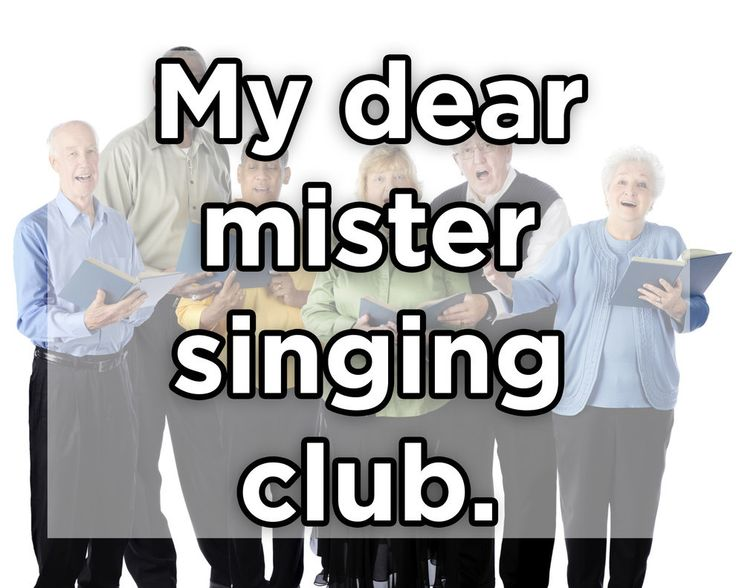 Mein lieber Herr Gesangsverein.