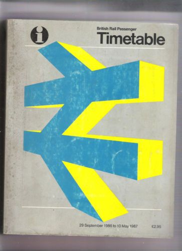 British-Rail-national-timetable-winter-1986-87-29-September-1986