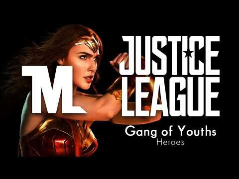 Justice League - Heroes Trailer Song (David Bowie - Heroes) (Cover by Gang of Youths) - YouTube